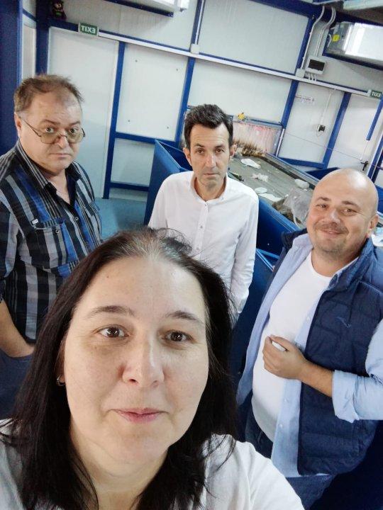 Vizită de lucru la Stația de sortare Brad și CMID Bârcea Mare